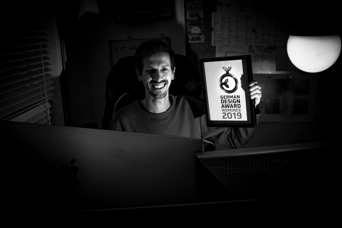 Daniel Grasmeier ist nominiert für den Best Newcomer des GDA